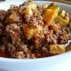 Zucchini and Ground Beef Casserole Recipe