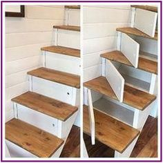 diy wood projects for home diy wood projects ; diy wood projects for beginners ; diy wood projects to sell ; diy wood projects for home ; diy wood projects for men ; diy wood projects for kids ; Diy Wood Projects, Home Projects, Woodworking Projects, Stair Storage, Diy Storage, Staircase Storage, Stairs With Storage, Stair Drawers, Hidden Storage