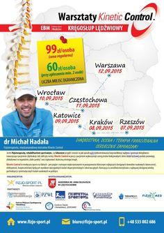 Nie przegap! ☛ Warsztaty Kinetic Control - dr Michał Hadała | 07-12.09.2015 - Rzeszów, Kraków, Katowice, Wrocław, Częstochowa, Warszawa