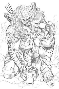 "The ""Elder Predator"" from Predator 2"