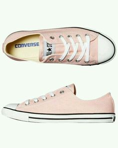 Converse All Star Sneakers Baby pink low top converse all-star sneakers-  they are a little scuffed up with dirt, which could totally be cleaned off,  ...