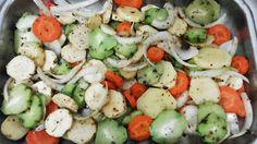 Na cozinha lá de casa: Legumes ao Forno