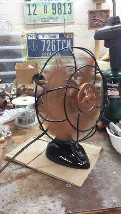 Refurbished fan.