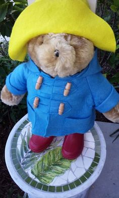 Super Rare Vintage Paddington Bear Teddy Bear 34 Years Old!  WORTH $200 BUT ONLY $50 ON EBAY  A very Nice Bear  #EdenToys