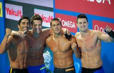 Olympic male swimmers