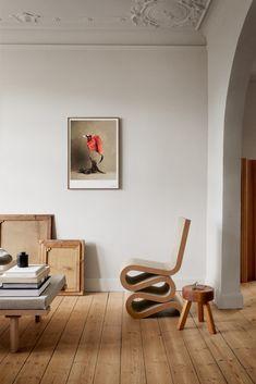 The Kinfolk Print Collection – Kinfolk Velvet Wallpaper, Kinfolk Magazine, Classic Artwork, Interior Inspiration, Living Spaces, Living Room, Small Spaces, Furniture Design, Upholstery