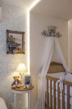 Room of the boy Baby Boy Rooms, Baby Bedroom, Little Girl Rooms, Baby Room Decor, Nursery Room, Kids Bedroom, Girl Nursery, Bebe Love, Decoration Design
