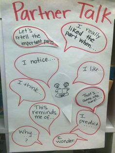 Primarily Primary: Anchor Charts Partner Talk