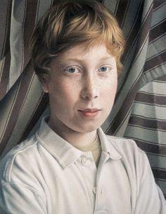 Severin, pastel chalk portrait by Simone Bingemer