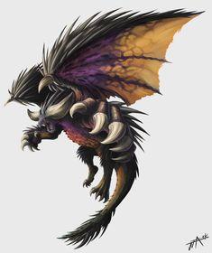 Monster Hunter World : Nergigante by truejjack