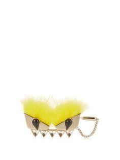 Bag Bugs fox-fur brooch | Fendi | MATCHESFASHION.COM US