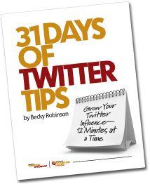 31 Days of Twitter Tips