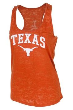 University Co-op Online | Ladies Texas Longhorns Burnout Tank