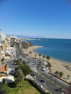 The Costa Del Sol, Spain, a place to escape when everything goes wrong for Andrew. The Beautiful Country, Beautiful Places, Benalmadena Spain, The Places Youll Go, Places To Visit, Andalucia Spain, South Of Spain, Cities, Spain And Portugal