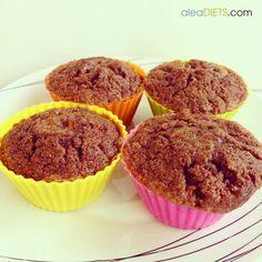 Muffins de cacao y limón - La dieta ALEA - blog de nutrición y dietética, trucos para adelgazar, recetas para adelgazar