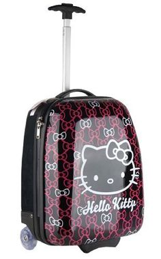 Hello Kitty Bowtastic ABS Pilot Carry On Case by Sanrio.  65.50. Authentic  licensed product a86297c2d89ae