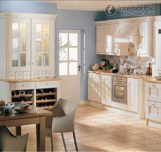 Mediterranean - lighter colours and simpler design
