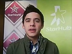 Live Chat with David Archuleta on StarHub Entertainment Facebook (Part 1 of 2)