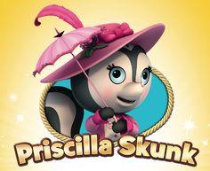 Priscilla Skunk on Sheriff Callie s Wild West Imagenes De Sheriff Callie c87a94a1308