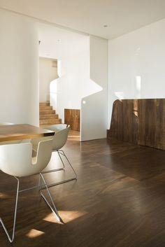 Wood + White interior