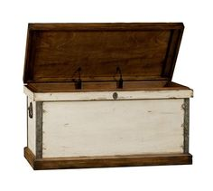 This Pottery Barn trunk would be perfect in the entry way of Cold Spring