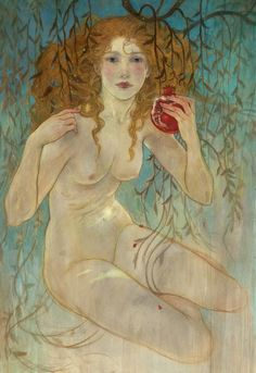 Persephone's contract [Eve, Rebecca Guay]