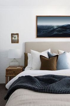 Belongil Salt Byron Bay - Apartments for Rent in Byron Bay, New South Wales, Australia Beach House Bedroom, Home Bedroom, Master Bedroom, Bedrooms, Beach Apartment Decor, House Beds, New South, Byron Bay, Villa
