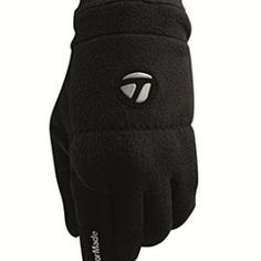 TaylorMade 2013 Mens Stratus Cold Thermal Winter Golf Gloves - Black - Pair - L