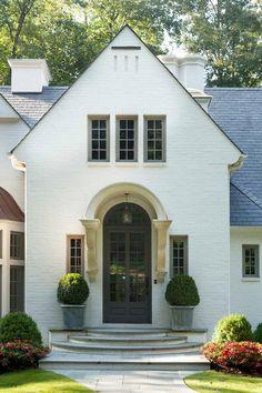 70 Best Modern Farmhouse Front Door Entrance Design Ideas 62 – Home Design Arched Front Door, Front Door Entrance, Exterior Front Doors, Front Entrances, Front Door Decor, Front Entry, Entrance Design, Front Door Design, Bar Design