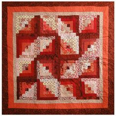 whirly gig quilt (made winter '11)
