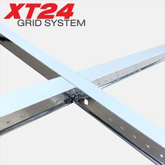 x Suspended Ceiling 600 Cross T Grid Section. Designed to fit with other grid sections to create a new flat suspended ceiing grid. Ceiling Grid, Ceiling Tiles, Grid Layouts, Grid System, Ceilings, Design, Cornice Boards
