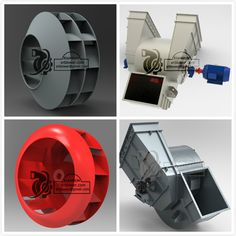 In general, centrifugal fan has one side air inlet with single suction impeller; If the air flow is very large, centrifugal fan can have two side air inlet with double suction impeller, two back to back impellers. Centrifugal Force, Industrial Fan, Dust Collector, Jet Engine, Tiny House Plans, Metal Fabrication, Geometric Shapes, Metal Working, 3d Printing