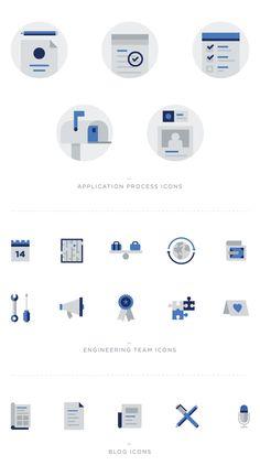 Engineering Icon Set by Jon McClure, via Behance