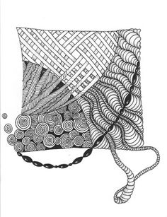 Cut'n It Up... And Sewing It Back Together!: Zentangle Inspired Art Gallery