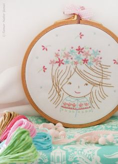 Embroidery pattern Complete Embroidery Kit by TamarNahirYanai