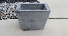 diy concrete planter, concrete masonry, diy, gardening, how to