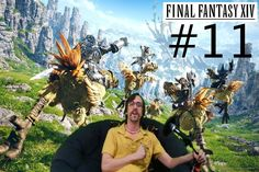 Final Fantasy 14 A Realm Reborn #11 I am the best Spider killer!