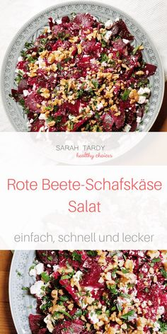 Beetroot - feta cheese - salad - sarah tardy - My dear friend Andrea brought me this simple recipe about 15 years ago, and it has been a long-runn - Cottage Cheese Salad, Pickled Beets, Vegetarian Recipes, Healthy Recipes, Beetroot, Salad Recipes, Snacks Recipes, Natural, Clean Eating