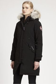 9ae95acaa85 Canada Goose fur trimmed Kensington Parka available at Saks Fifth Avenue  for $745.00 Canada Goose Kensington