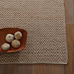 comes in two colors.  this is a wonderful rug.  Jute Chenille Herringbone Rug - Natural/Ivory #westelm