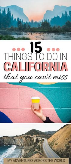 Heading to California? Check out the 15 unmissable things to do in California. It includes Yosemite, Santa Monica, Big Sur and a few destination in roder to discover California off the beaten path. This a California guide with tons of California travel tips #california #californiaadventure #californiadreaming - via @clautavani