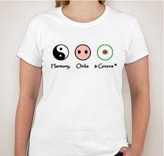 Buy a t-shirt to support Harmony, Oinks