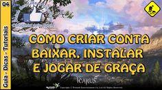 ICARUS ONLINE - JOGUE DE GRAÇA como criar conta, baixar e instalar (Open... Icarus Online, Entertaining, World, Youtube, Snood, Games, Magick, The World, Youtubers