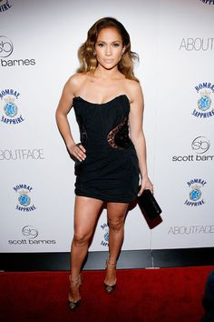 Pin for Later: Jennifer Lopez's 71 Sexiest Styles Ever Short and super sexy in a black strapless at a book launch party in Star Fashion, World Of Fashion, Pictures Of Jennifer Lopez, Fashion Pictures, Style Pictures, Her Style, Beauty Women, Style Icons, Strapless Dress Formal