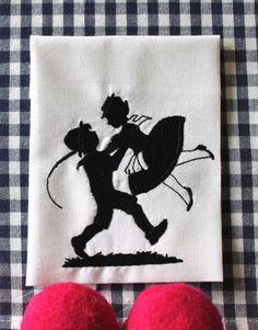 """Stickdatei """"Tanzpaar...""""   von  """"FeinKram""""  hier gibt es die schönsten Scherenschnitt StickDateien ;-))) auf DaWanda.com"""