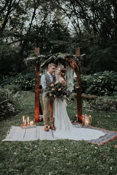 You will find some amazing Boho Wedding Ideas in this board if you are looking to style a bohemian wedding theme. Check out the Boho Wedding Inspiration below including flowers, invitations, dresses and more. Forest Wedding, Fall Wedding, Wedding Ceremony, Dream Wedding, Wedding Ideas, Wedding Advice, Wedding Night, Wedding Images, Wedding Hair