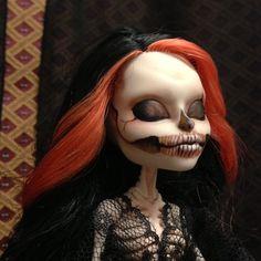 Monster High OOAK Repaint Skelita Spanish Beauty   eBay