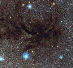 ESO - eso1233a - The mouthpiece of the Pipe Nebula. Image credit: ESO