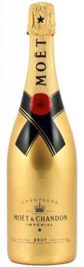 Moet & Chandon Brut Gold Champagne #gold #champagne #party