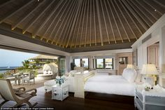 Branson bought Moskito Island for a reported purchase price of $10million (£6.5million) ba...